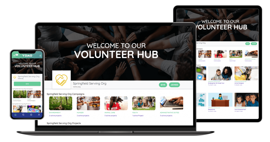 volunteer management and corporate responsibility software