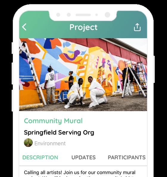 VOMO mobile volunteer platform