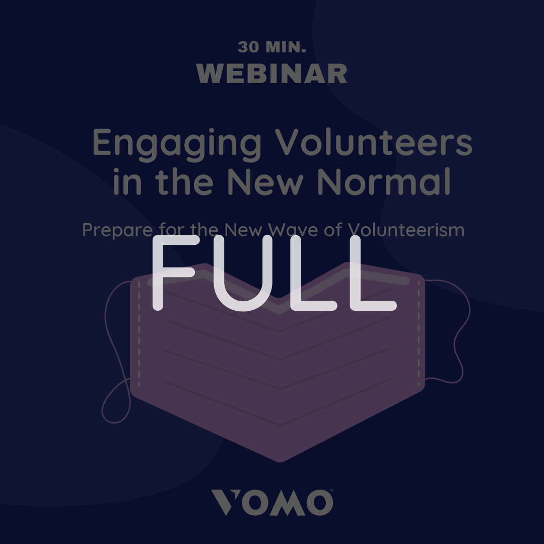 VOMO volunteer engagement webinar