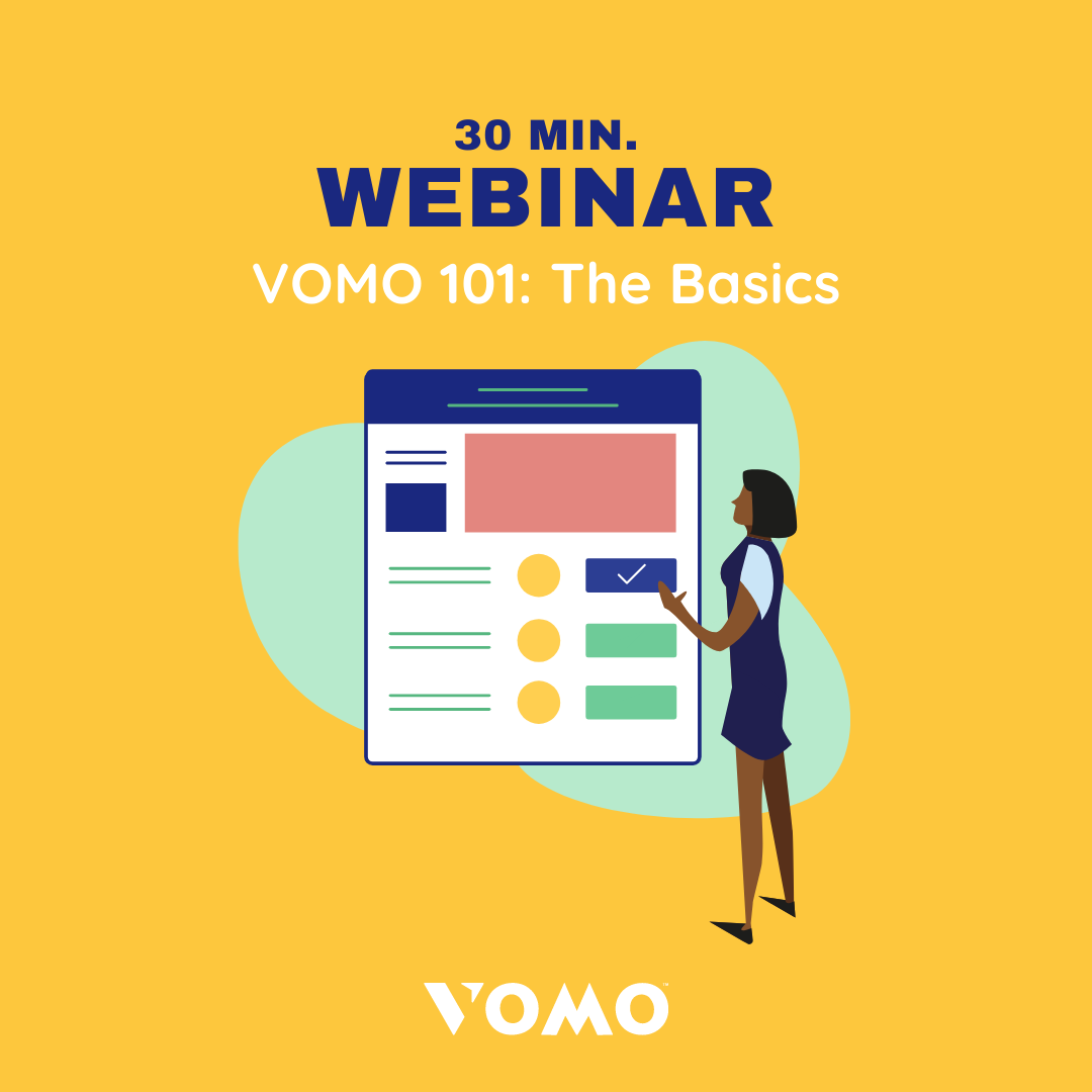 VOMO volunteer management webinar