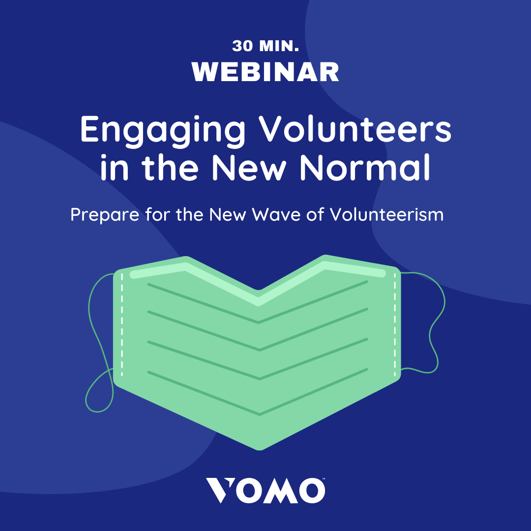 VOMO COVID volunteer engagement