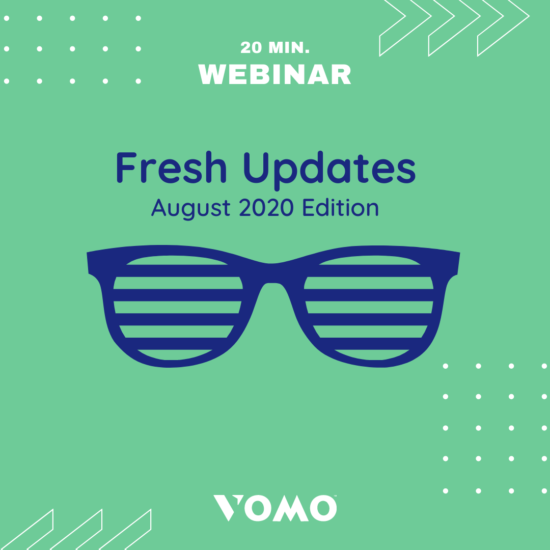 Volunteer updates with VOMO