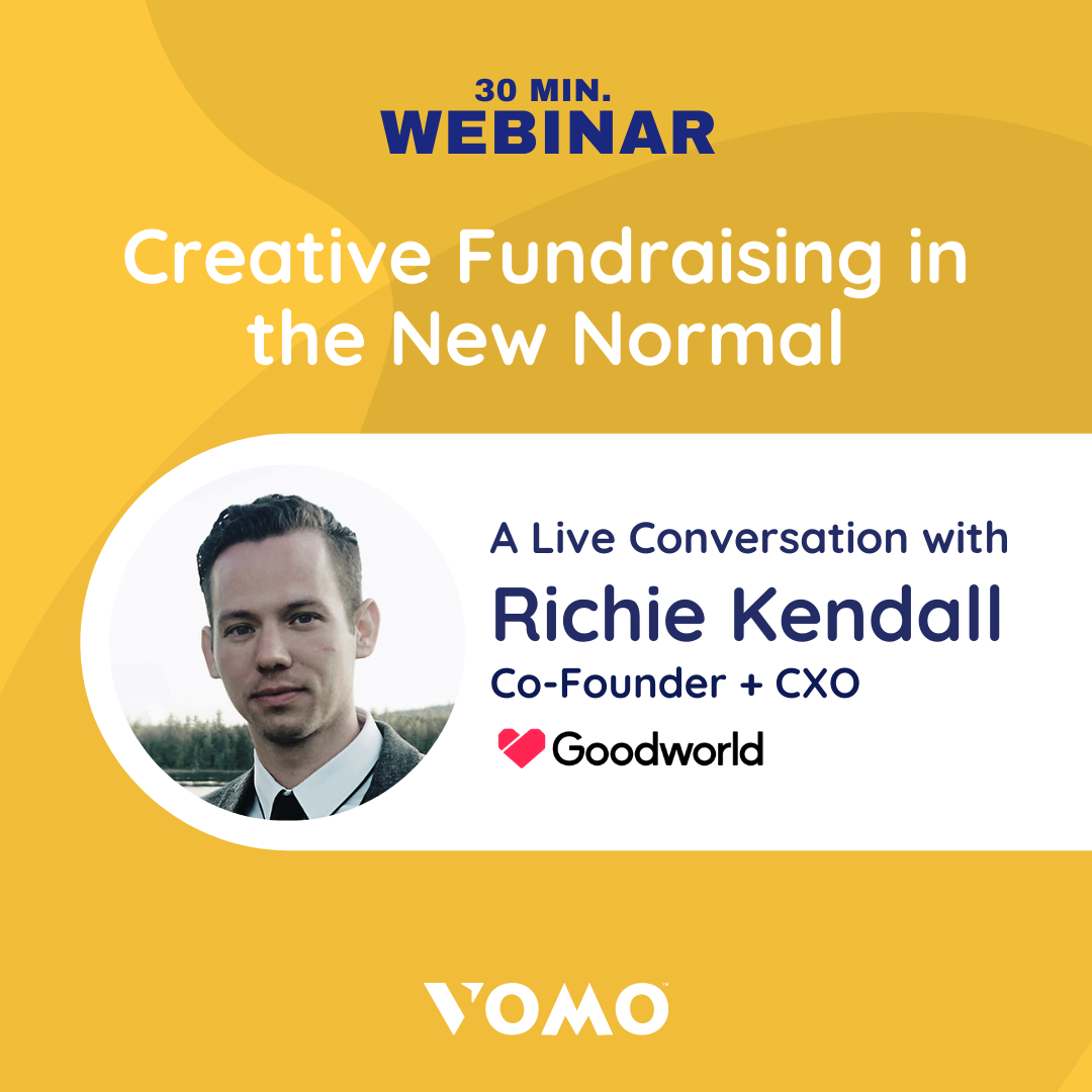 Webinar - Creative Fundraising in the New Normal