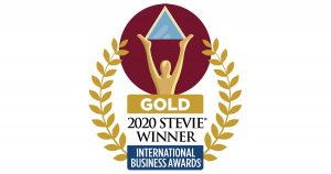 Gold Stevie Winner International Business Awards Small Company