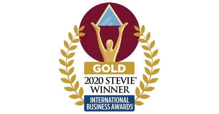Gold Stevie Winner International Business Awards Small Company