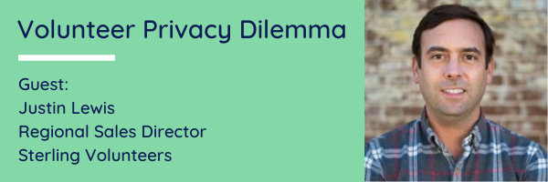 Volunteer privacy questions