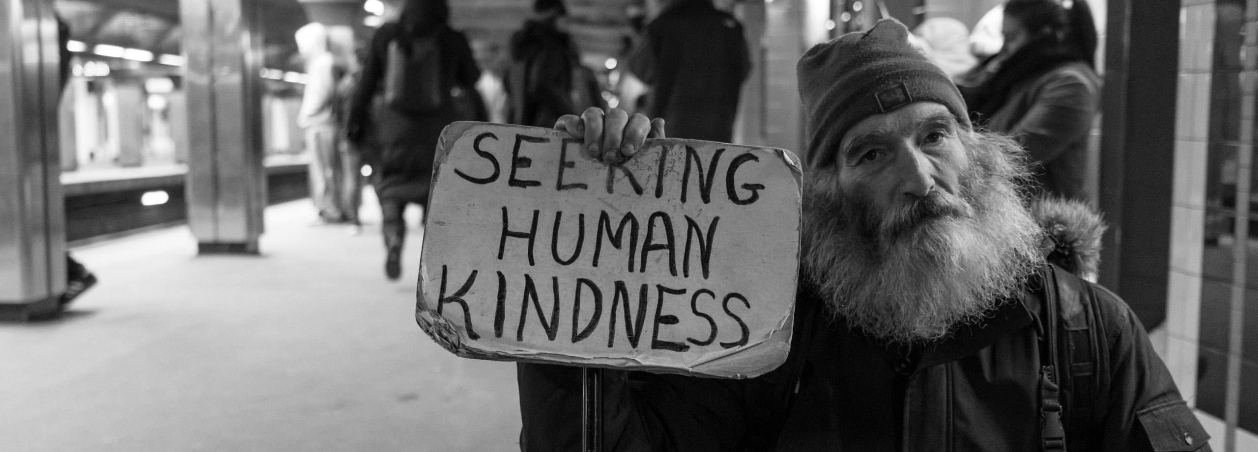 Helping the homeless by volunteering