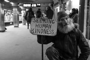 volunteering to help homeless