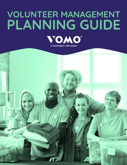 Volunteer Management Planning Guide