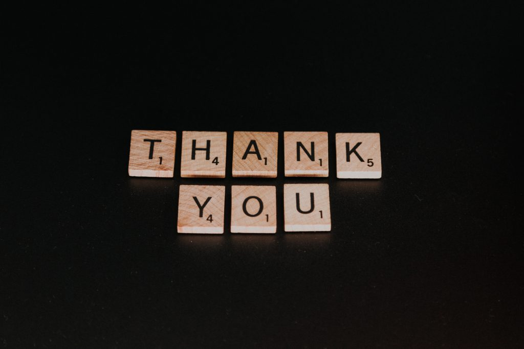 Volunteer thank you gifts